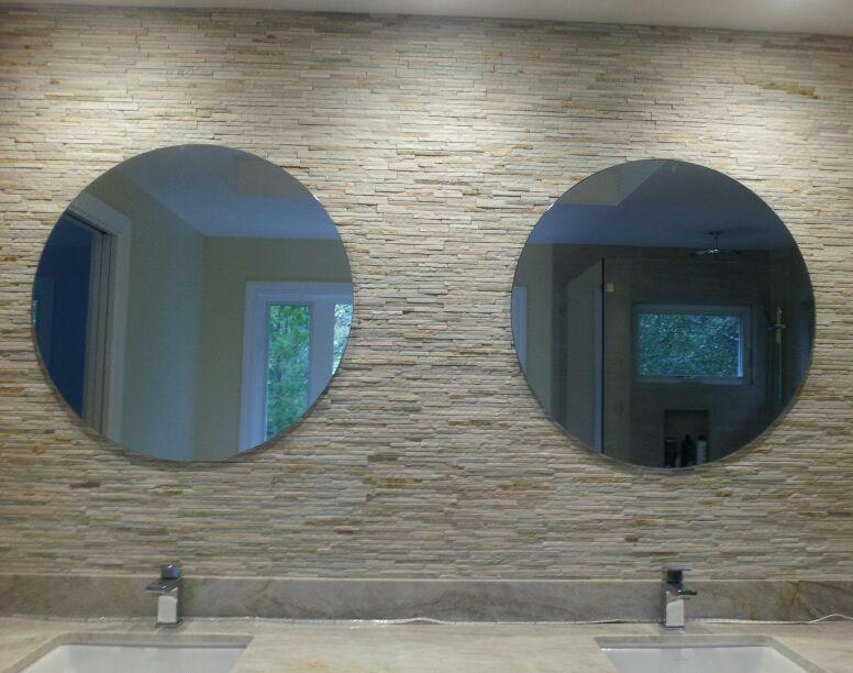 LGG Double Round Mirrors