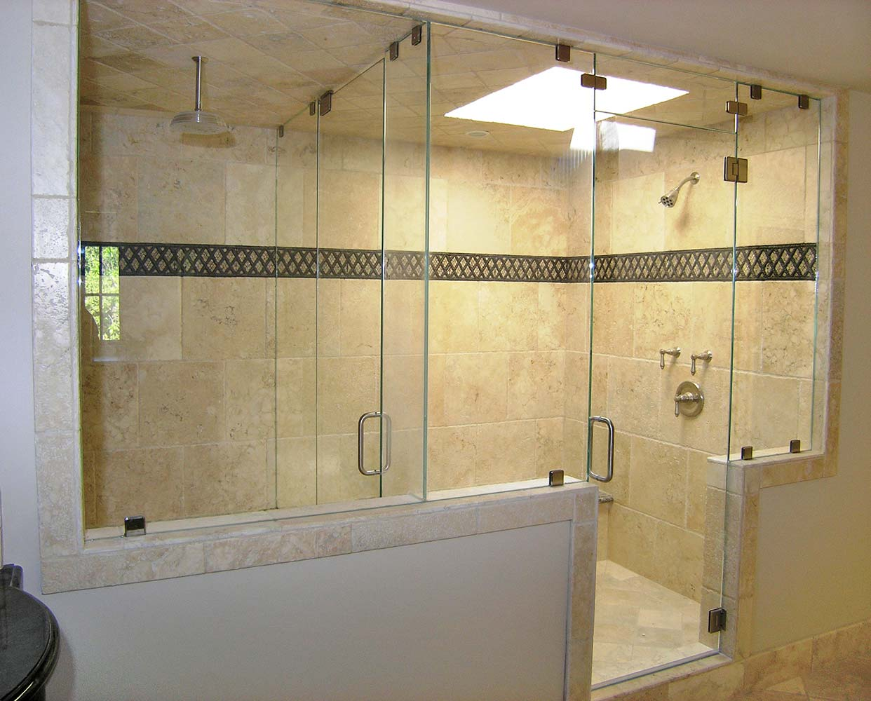 Large bathroom showers 28 images large walk in shower for Big bathroom